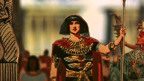 Papiertheater-Aida - RADAMES
