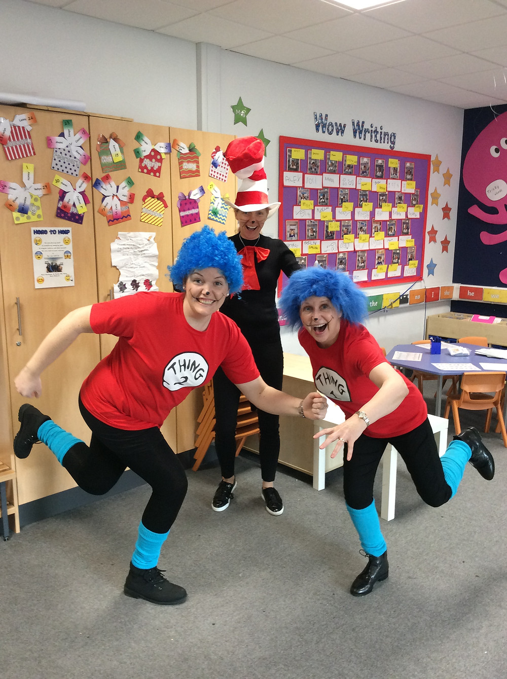 Teachers enjoying world book day!