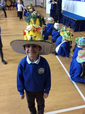 Easter bonnet eggstravaganza