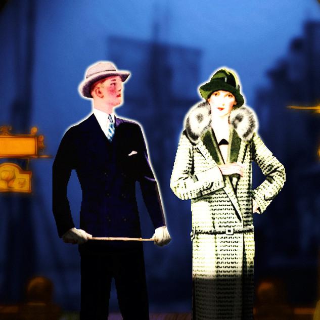 Kostümprobe Polly und Macheath