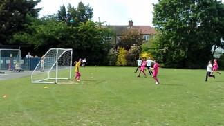 First football match for team JLA!