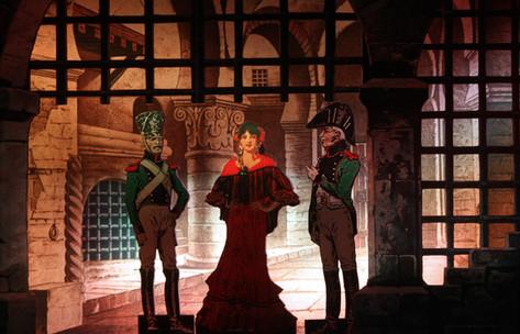 Carmen, Don Jose und Zuniga