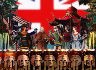 British Afternoon Tea und Zauberflöte