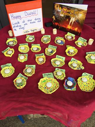 JLA celebrates Diwali
