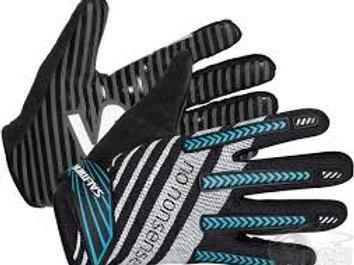 Перчатки вратаря SALMING TRAVIS BLK/CYAN