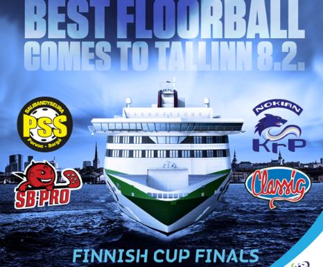 Большой флорбол едет в Таллин!