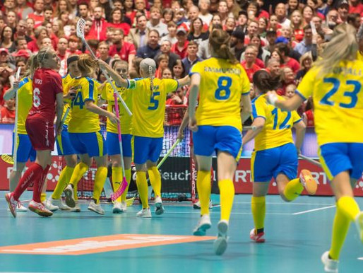 Sweden are the World Floorball Champions!