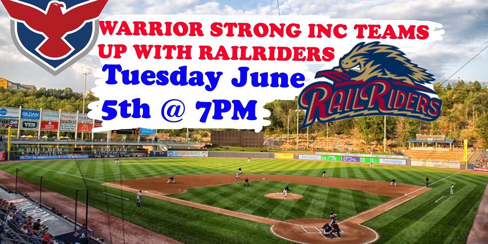 SWB RailRiders Night (featuring Warrior Strong)