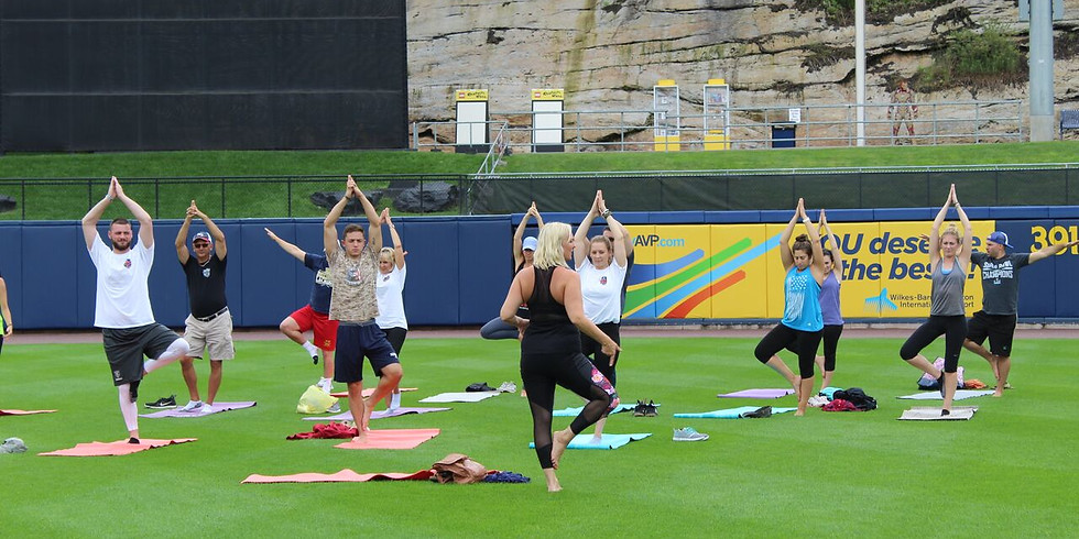 Yoga with Sussex Miners