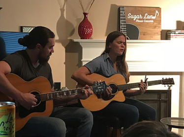 Ryan Tharp and Bonnie Bishop