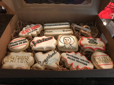 """Cookies by """"The Bearded Baker"""""""