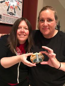Jana Pochop and Susan Gibson