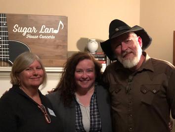 Donna Shelton, Libby Koch and Chuck Hawthorne