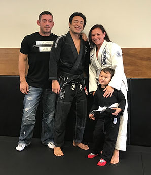Russ Miura Jiu Jitsu Chris Brennan's 3rd Degree Black Belt, Next Generation MMA Affiliate men women kids laguna hills Orange County