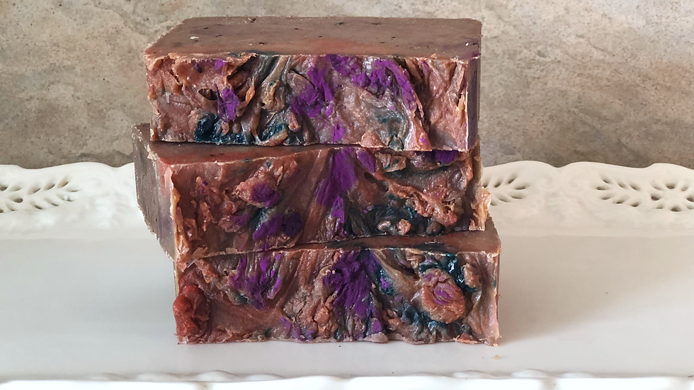Blueberry & Berries Soap / natural soap