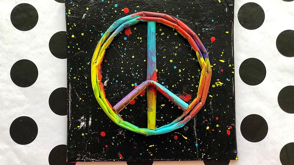 PEACE Canvas