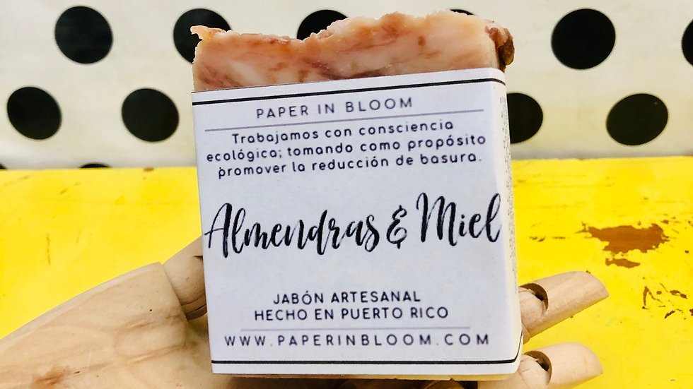 Jabón Almendras y Miel  / Almond & Honey Soap