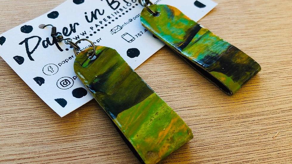 Pantallas de Material Reciclado
