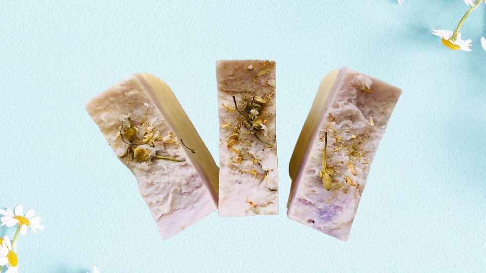Lavanda Manzanilla Jabón Artesanal / Lavender Chamomile Artisan Soap
