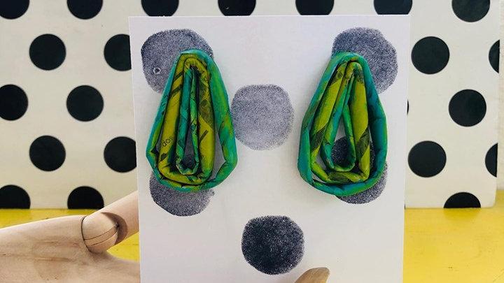 Gotas / Pantallas de Material Reciclado