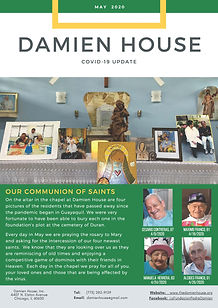 Damien House_Newsletter_COVID-19 Update_
