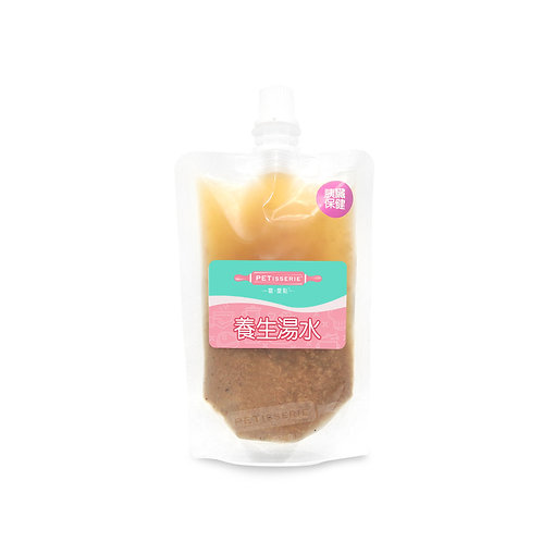 茶樹菇桂圓紅棗鴕鳥湯 | Tea Tree Mushroom, Longan and Jujube with Ostrich Soup