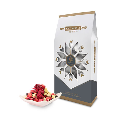 凍乾雜莓奇異果粒粒 | Freeze Dried Organic Chopped Berries & Kiwis