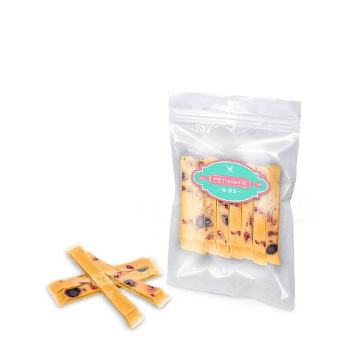 軟身羊奶芝士條(雜莓味) | Soft Goat Milk Cheese Sticks (Berries)