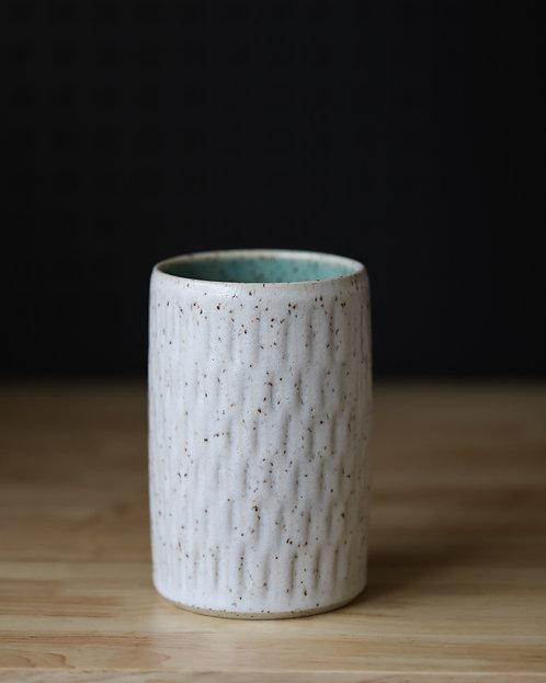 Speckled Textured Jar