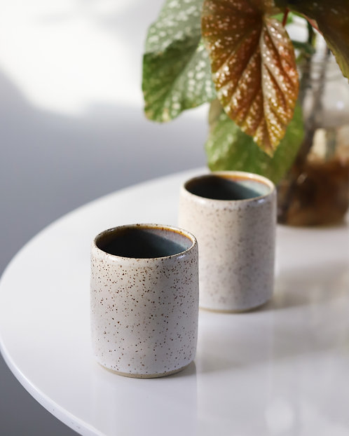 Speckled Cups - Set of 2