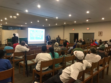 Tidewater Garden Residents Meet with Architects June 20, 2018