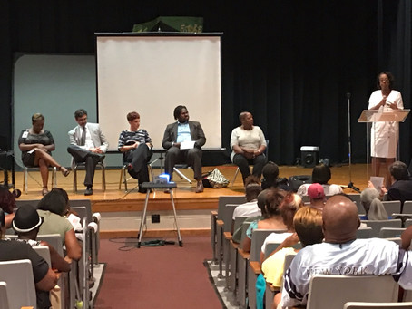 MISSED THE AUGUST COMMUNITY MEETING?