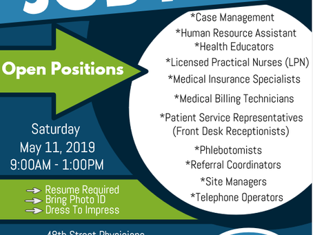 Searching for Employment? Have Healthcare Experience?