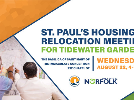 Tidewater Gardens Housing and Relocation Meeting