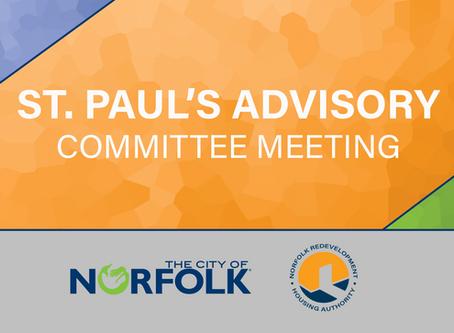 St. Paul's Advisory Committee Meeting