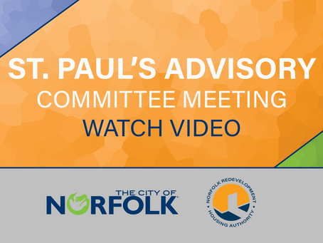 St. Paul's Advisory Committee Meeting 3/16/2021 - Video