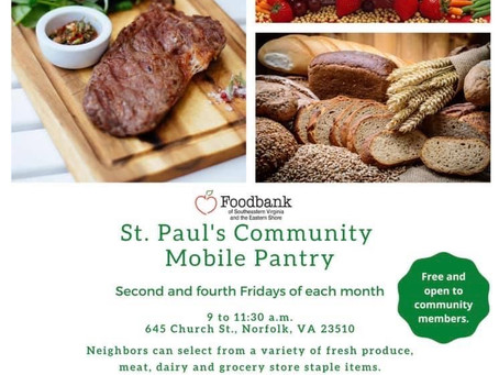 St. Paul's Community Mobile Pantry