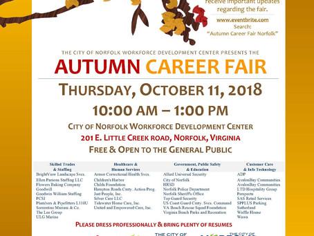 Fall Career Fair!