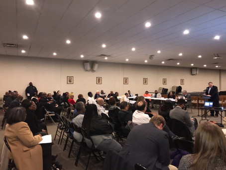 St. Paul's Area Advisory Group February Meeting