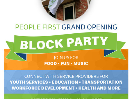 People First Grand Opening is One Week Away!