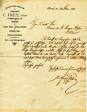 Original Invoice 1881