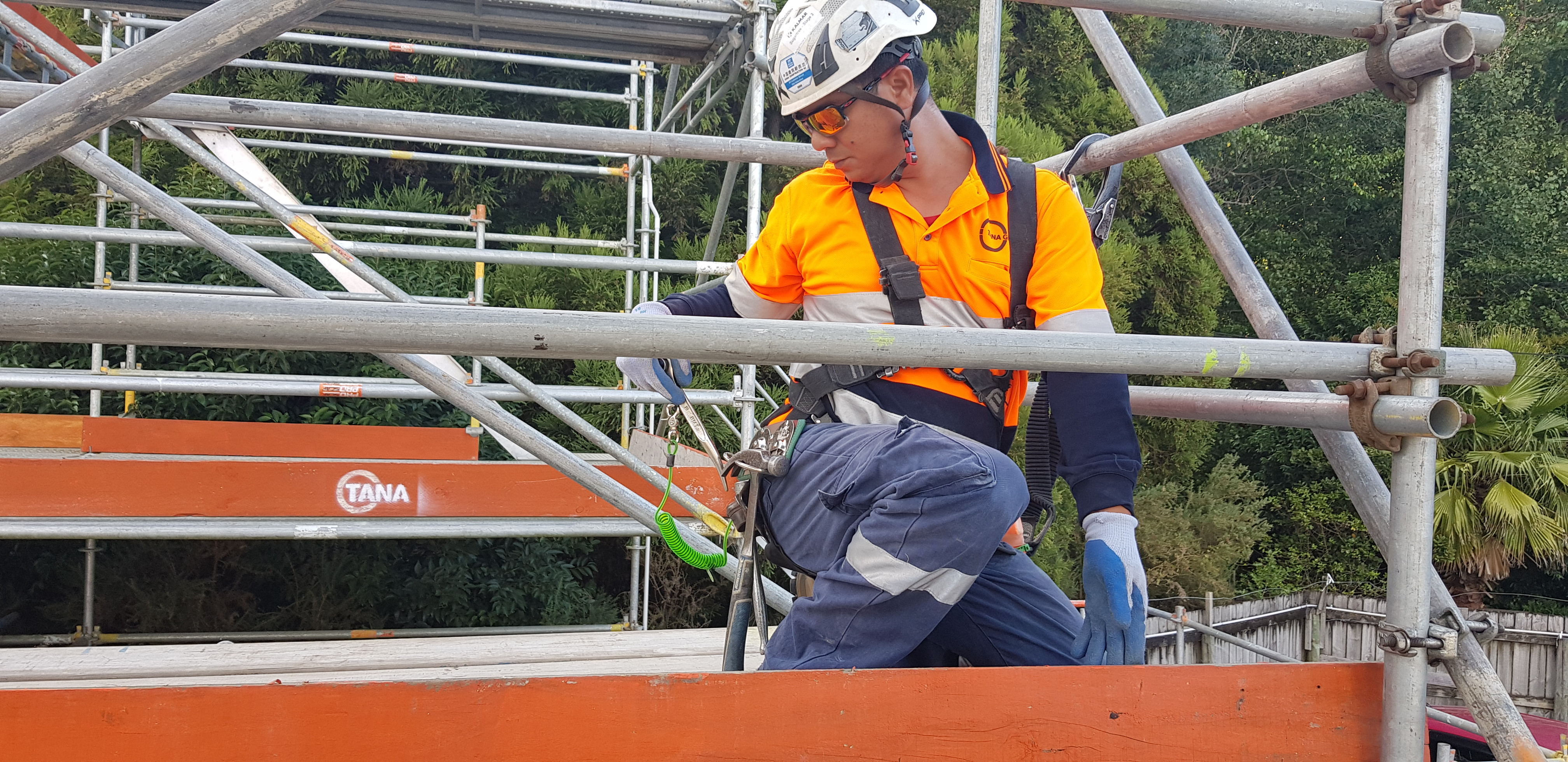 Non-notifiable Low Level Scaffolding