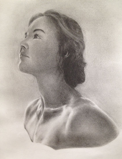 Figurative/portrait drawing in the realistic style
