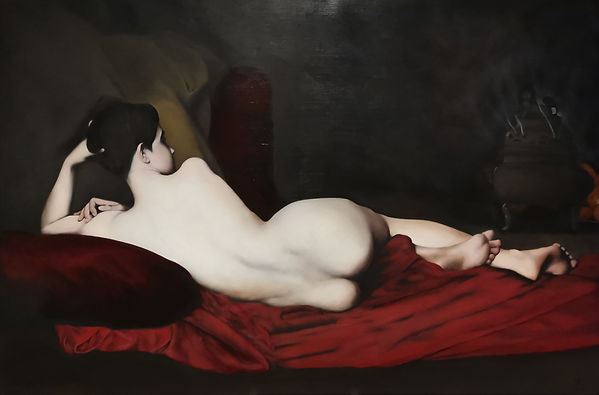 Copy of Jules Lefebvre's Odalisque