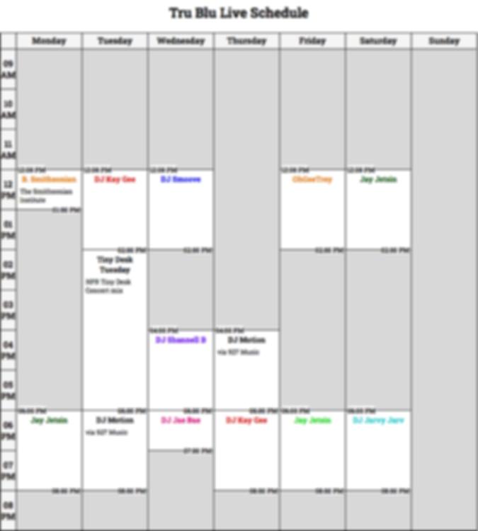 Tru Blu Live Schedule.png