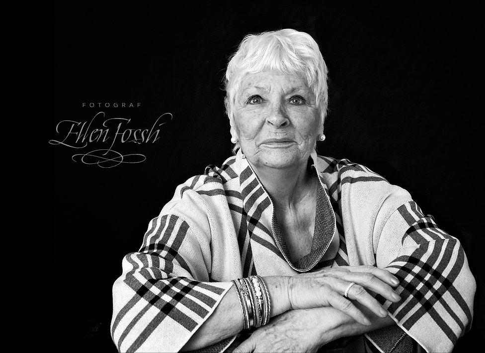 Portrettfotografering sort_hvitt Liv Fot