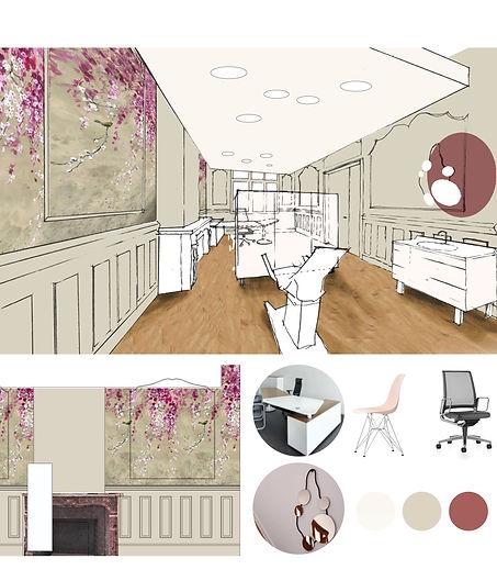 Architecture interieure-cabinet médical-Pigmenterre