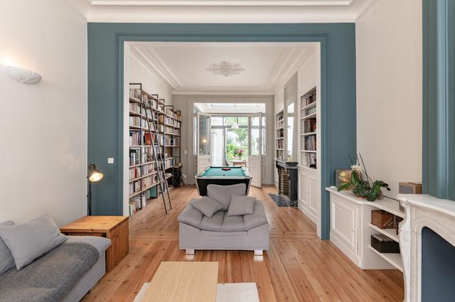 bibliothèques de salon