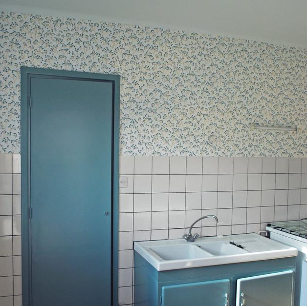 """Une cuisine """"rétro-champêtre"""""""