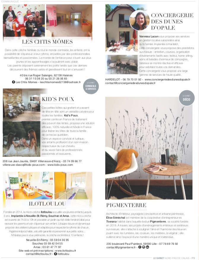 ELLE Magazine Pigmenterre
